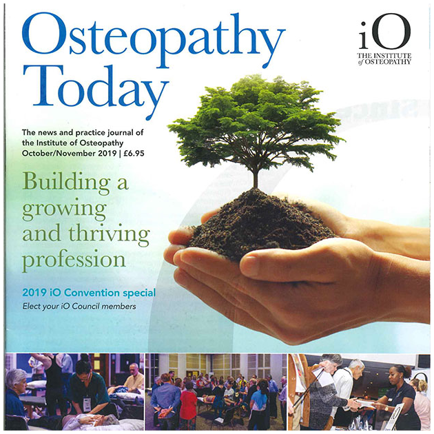 Osteopath reaches UK Bestseller list Podcast Cover Image
